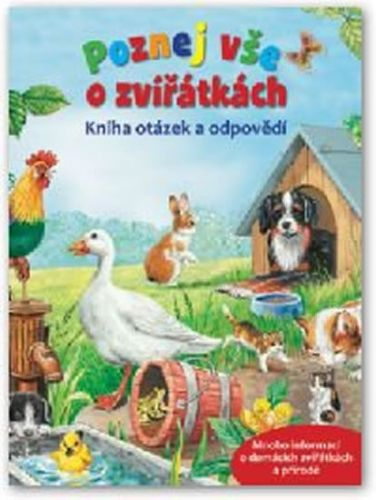 Svojtka Poznej vše o zvířátkách – Kniha otázek a odpovědí cena od 123 Kč