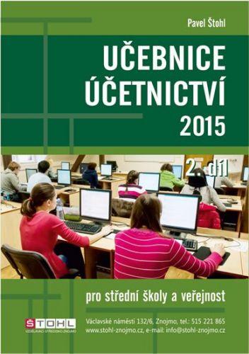 Pavel Štohl: Učebnice Účetnictví II. díl 2015 cena od 170 Kč