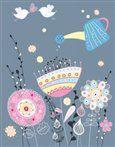 Tushita Zápisník Floral Design cena od 122 Kč