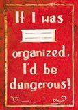 Tushita Sešit - If I was organized, I'd be dangerous! cena od 28 Kč