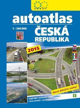 Autoatlas Česká republika 1:240000 cena od 106 Kč