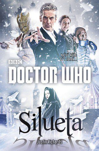 XXL obrazek Justin Richards: Doctor Who: Silueta