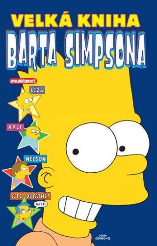 Matt Groening: Simpsonovi - Velká kniha Barta Simpsona cena od 169 Kč