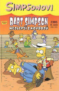 Matt Groening: Bart Simpson Nejlepší z kovbojů cena od 27 Kč
