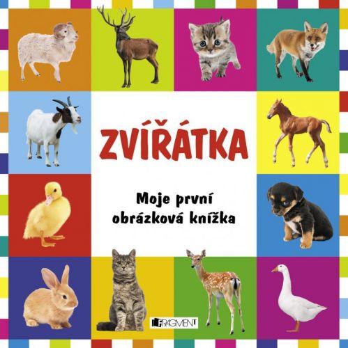 Ondrej Kolčiter: Moje první obrázková knížka – Zvířátka cena od 87 Kč