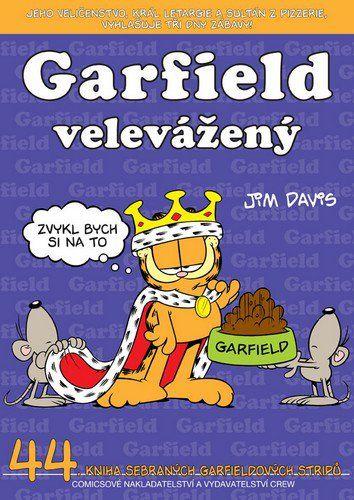 Jim Davis: Garfield velevážený (č.44) cena od 60 Kč