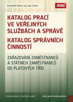Ivan Tomší: Katalog prací ve veřejných službách a správě cena od 381 Kč