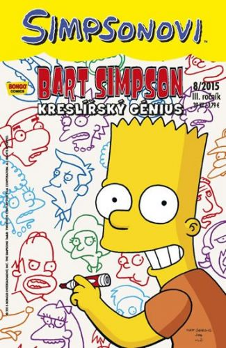 Matt Groening: Bart Simpson 2015/8: Kreslířský génius cena od 25 Kč