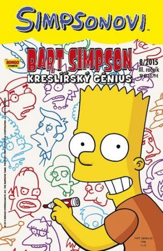 Matt Groening: Simpsonovi - Bart Simpson 8/2015 - Kreslířský génius cena od 26 Kč