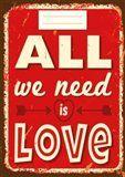 Tushita Sešit - All we need is Love cena od 37 Kč
