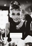 Tushita Sešit - Audrey Hepburn cena od 35 Kč