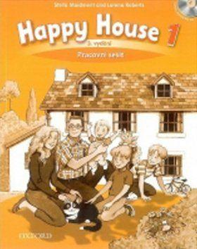Stella Maidment, L. Roberts: Happy House 3rd Edition 1 Pracovní sešit s poslechovým CD cena od 204 Kč