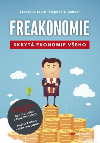 Steven D. Levitt, Stephen J. Dubner: Freakonomie cena od 207 Kč