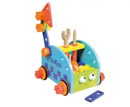 Boikido Stavebnice autíčko s nářadím