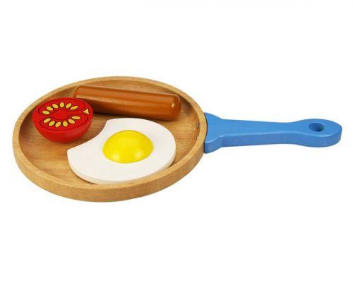 Bigjigs Set snídaně na pánvičce
