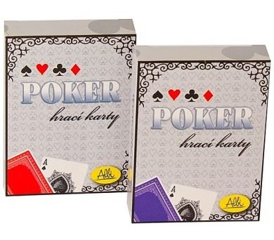 Albi: Poker - karty červené
