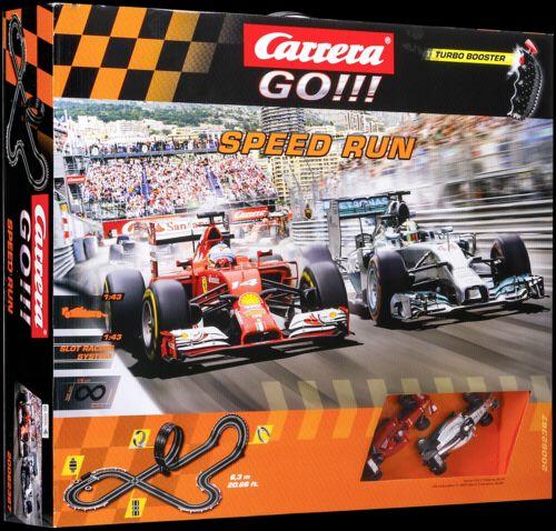 Carrera GO!!! Speed Run 62367 cena od 0 Kč