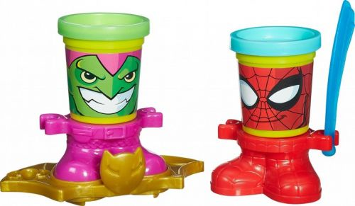 Hasbro Play-Doh Play-Doh kelímky ve tvaru hrdinů marvel