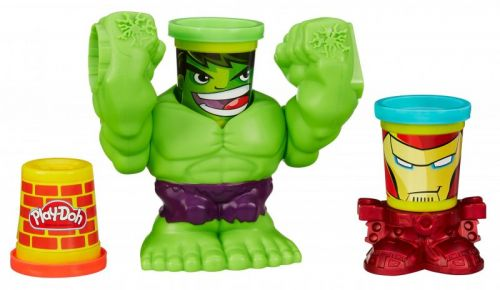Hasbro Play-Doh MVL drtící hulk cena od 293 Kč