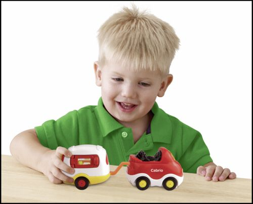 VTech Tut Tut Baby Flitzer Cabrio & Obytny karavan cena od 344 Kč