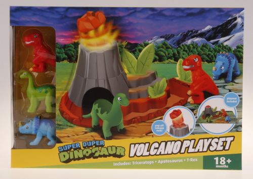 Alltoys Dinosauři s hrací deskou vybuchující sopka cena od 278 Kč