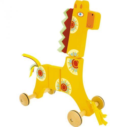 Ulysse Dřevěná tahací hračka Žirafa cena od 0 Kč