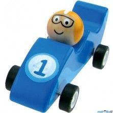 Bino Auto Natahovací autíčko, Zavodní modré cena od 0 Kč
