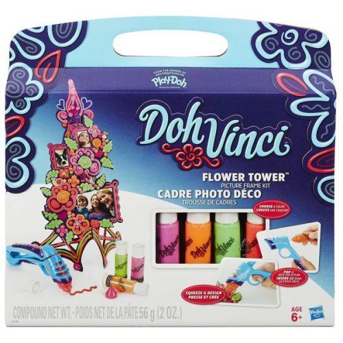 Hasbro Play-Doh dohvinci set dekorovací květinová věž cena od 188 Kč