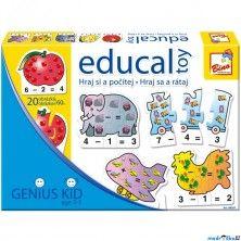BINO Didaktická hra Educal Toy, Hraj si a počítej