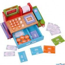 Bigjigs Toys Prodejna Dětská pokladna dřevěná cena od 806 Kč