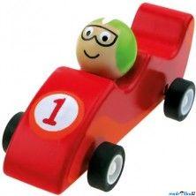 BINO Auto Natahovací autíčko, Zavodní červené cena od 119 Kč