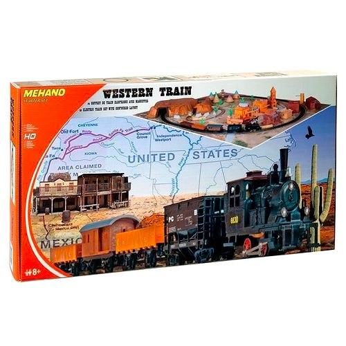 Mehano Train set Western train without layout
