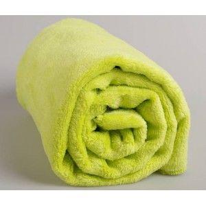 Kaarsgaren Wellsoft limetková deka
