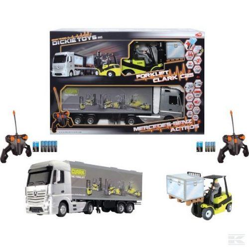 DICKIE Kamion a vysokozdvižný vozík Case Mercedes-Benz cena od 2799 Kč