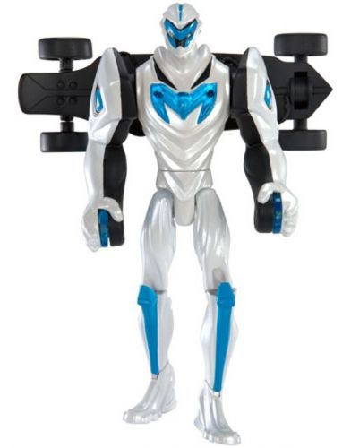 MATTEL Max Steel Týmová figurka Turbo skejt Deluxe cena od 0 Kč