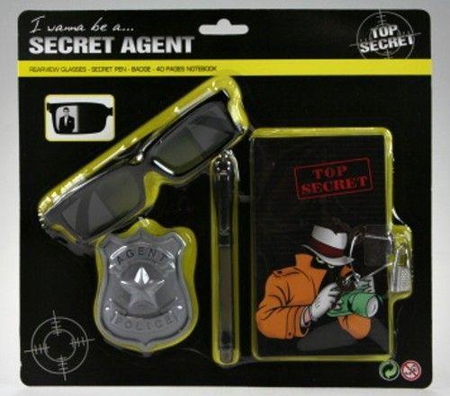 LAMPS Tajný agent sada pro kluky