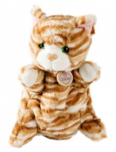 BAUER Plyšový maňásek Kočička 25 cm