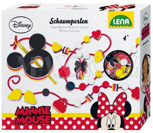 Lena Disney Pěnové perly Minnie cena od 199 Kč