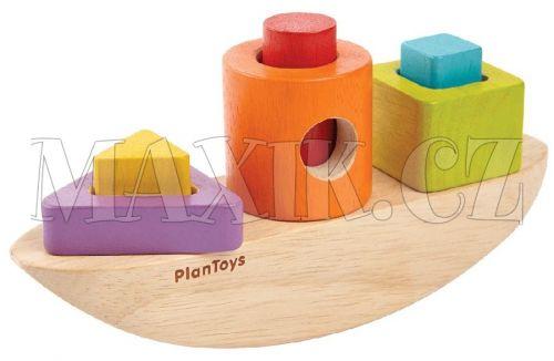 Plan Toys Třídící loď cena od 399 Kč