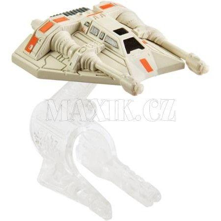 Hot Wheels Star Wars Kolekce hvězdných lodí Rebel Snowspeeder cena od 0 Kč
