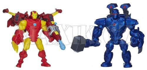 Hasbro Avengers Super Hero Mashers Hrdina a zloduch Iron Man vs. Iron Monger cena od 599 Kč