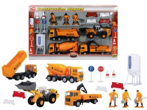 SIMBA Sada stavebních aut s příslušenstvím