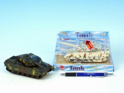 MIKRO TRADING Tank kov se světlem a zvukem 12 cm