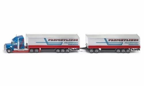 SIKU Super Kamion s vlekem 1:87 cena od 329 Kč