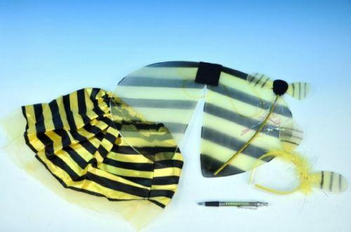 TEDDIES Křídla vosa se sukýnkou, hůlkou a čelenkou v sáčku 40 cm cena od 165 Kč