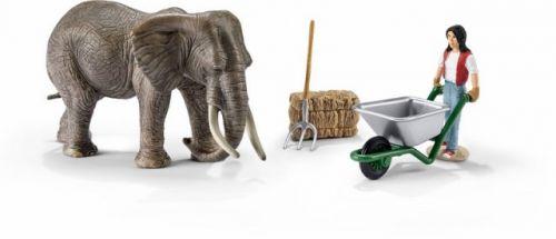 SCHLEICH Set slon a příslušenství cena od 296 Kč