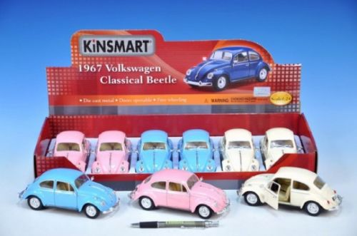 MIKRO TRADING Auto VW Classical Beetle 1967 1:24 kov cena od 175 Kč