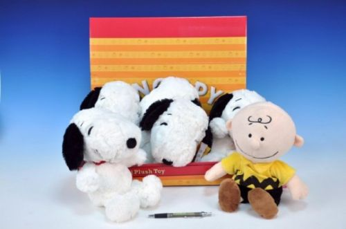 MIKRO TRADING Snoopy 28 cm a Charlie 31 cm cena od 202 Kč