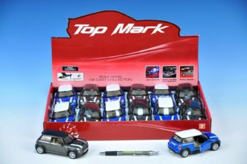MIKRO TRADING Auto Mini Cooper S kov 12 cm cena od 174 Kč