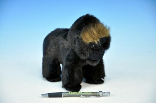 MIKRO TRADING Gorila NURU plyš sedící 17 cm